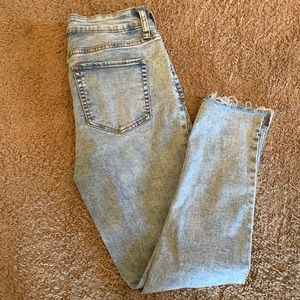 Wild Fable Whitewashed Crop Jeans